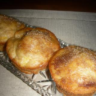 Fresh Peach Yogurt Breakfast Muffins
