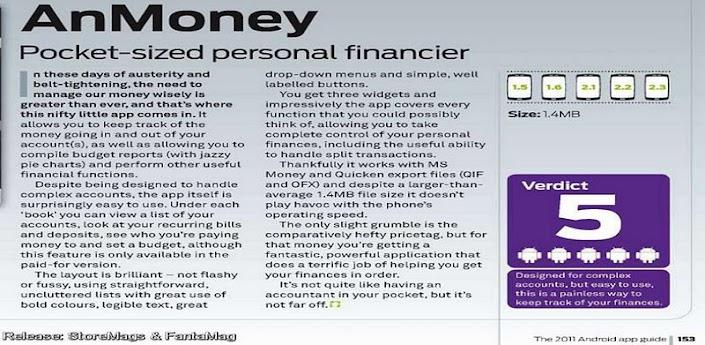 anMoney PRO Finance - Warez Mobile Forum - iPhone, Android