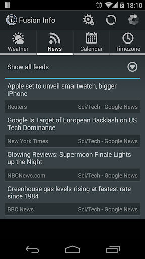 免費下載天氣APP Weather and News Info Widget app開箱文 APP開箱王