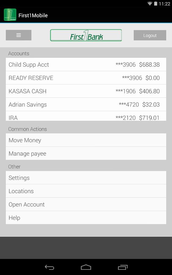 First1Mobile - screenshot