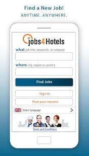 Jobs4Hotels- screenshot thumbnail