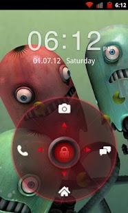 Go Locker Red Four Key Theme Screenshot 2
