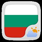 Bulgarian Language GOWeatherEX icon