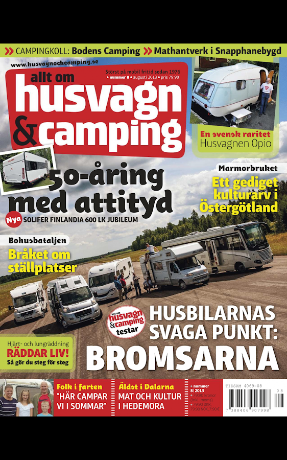 Husvagn & Camping- screenshot