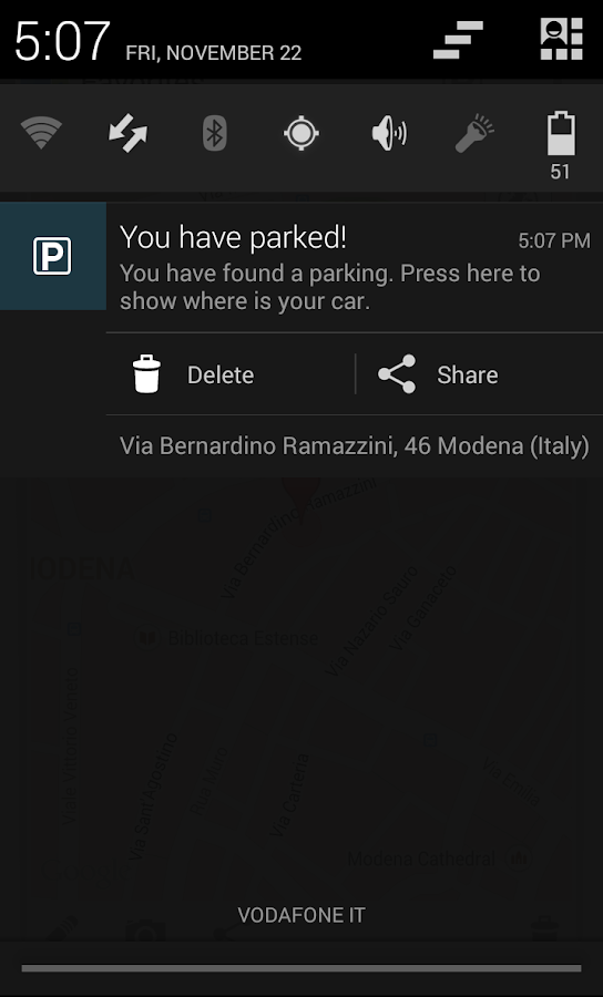 WhereSleepsMyCar Lite - screenshot