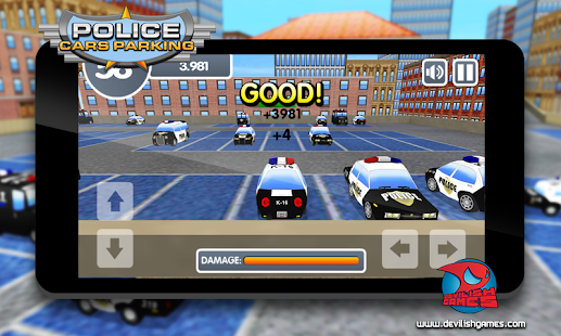 Police Cars Parking- screenshot thumbnail