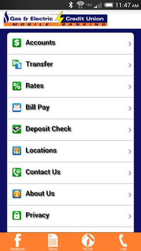 Gas Electric Mobile Banking