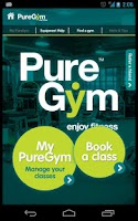 Screenshot of my PureGym
