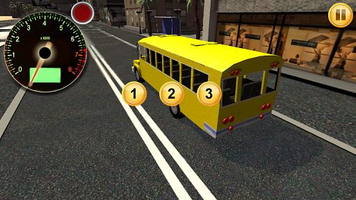 School Bus City Ride Sim 3D