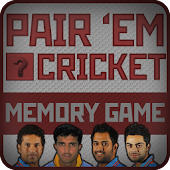 PAIR 'EM : CRICKET Memory Game