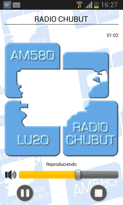 Radio Chubut AM 580: captura de pantalla