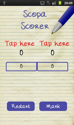 Scopa Scorer