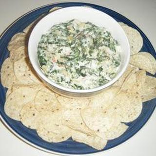 Easy Spinach Artichoke Dip.
