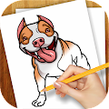 Download Android Game Learn to Draw Dogs and Puppies for Samsung