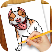 Download Learn to Draw Dogs and Puppies APK on PC