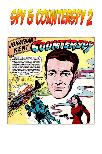 Comic Spy Counterspy 2