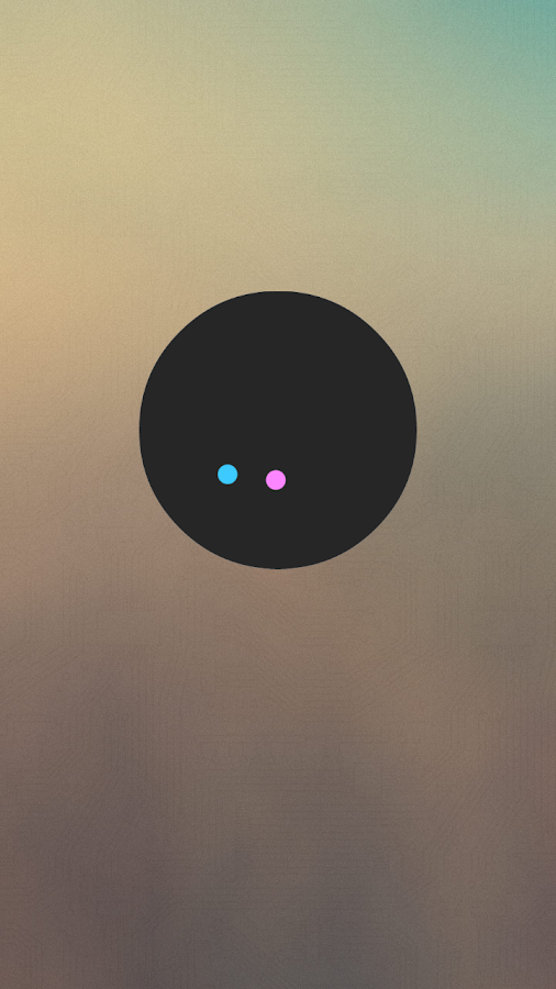 Circles - UCCW Clock Skin - screenshot