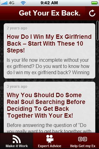 Get Your Ex Back.