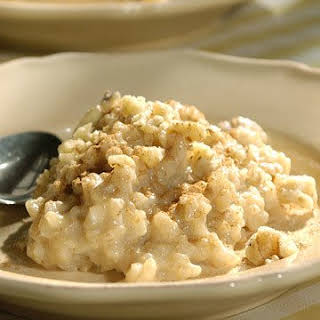 Brown-Rice Pudding.