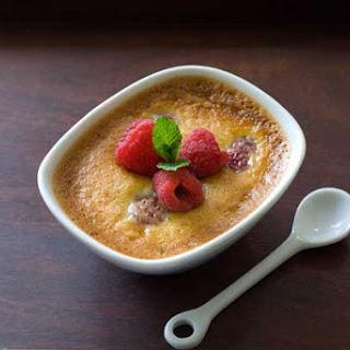 Gluten Free Honey Pots de Creme with Raspberries