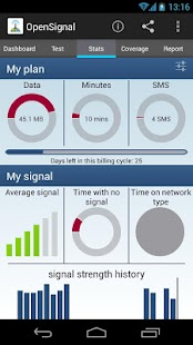 3G/4G/WiFi Maps & Speedtest - screenshot thumbnail