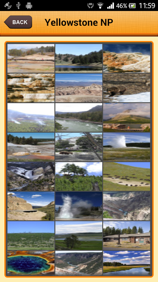 Yellowstone National Park- screenshot