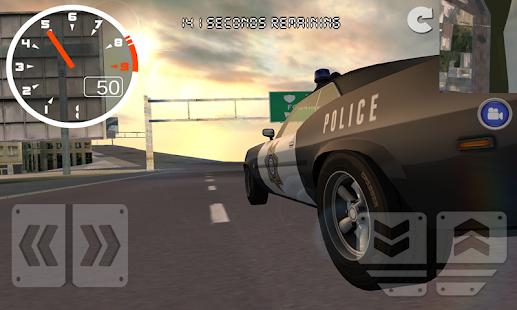 Police-Car-Street-Driving-Sim 7