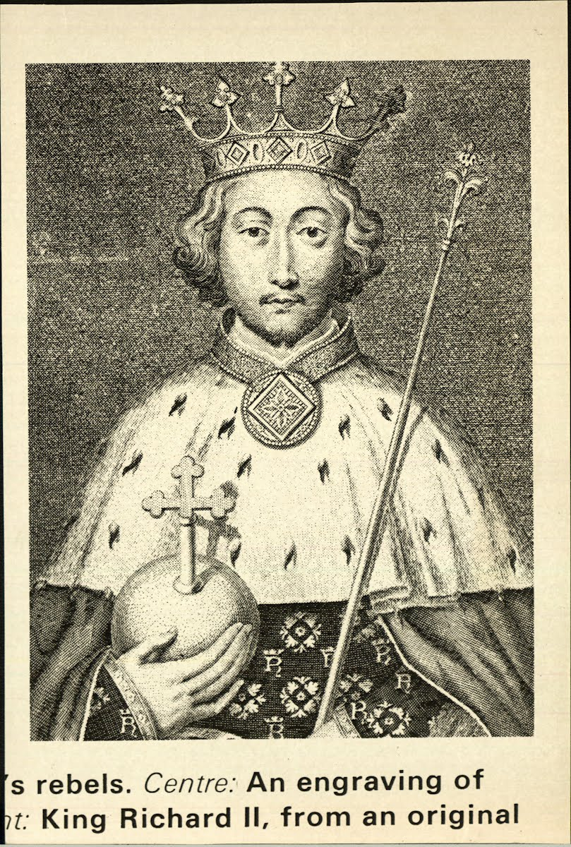 Richard Ii King Of England 1367-1400