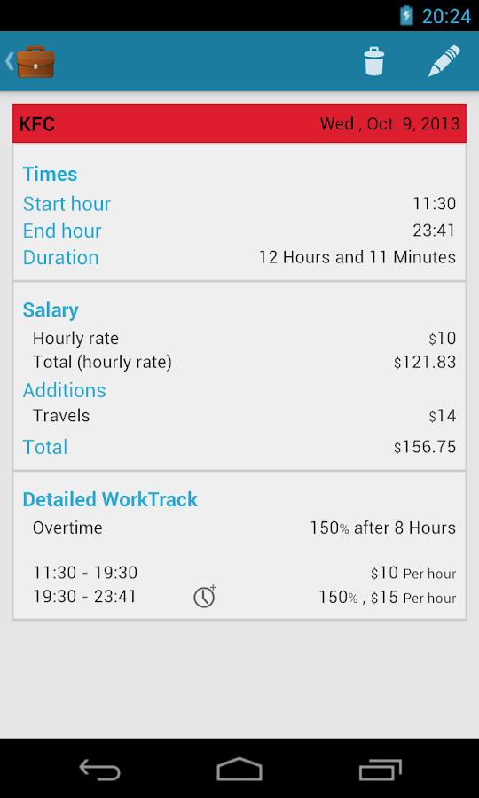 hour tracker calculator