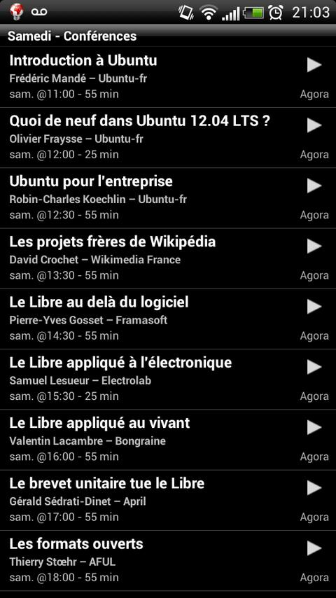Ubuntu Party de Paris - screenshot