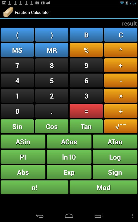 Handyman Calculator - screenshot