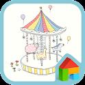 可愛らしい遊園地ドドルランチャのテーマ icon