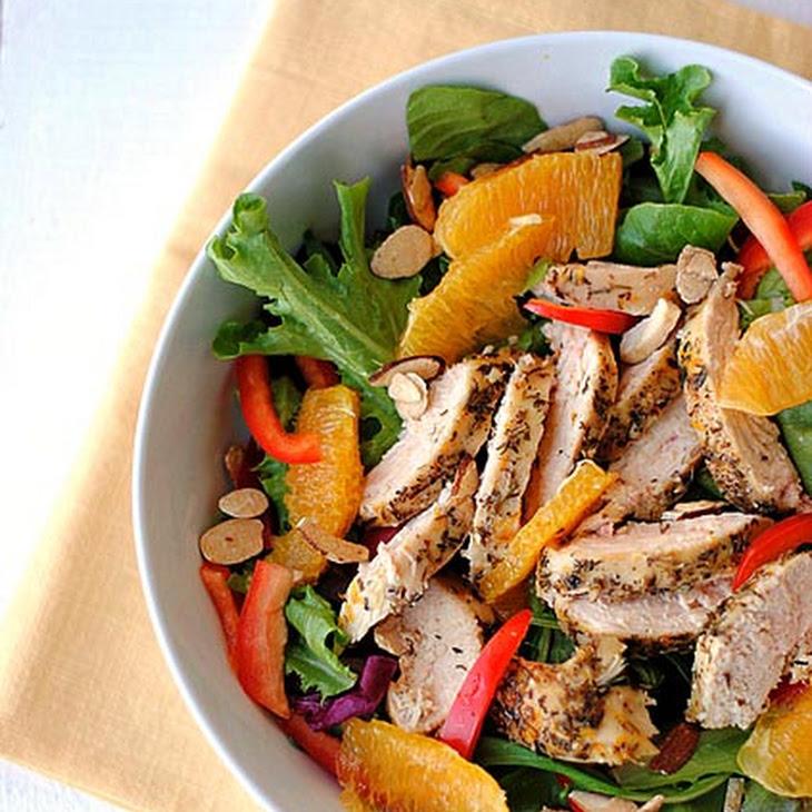 Grilled Honey-Orange Chicken Salad Recipe
