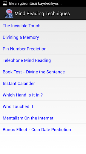 心靈閱讀技巧
