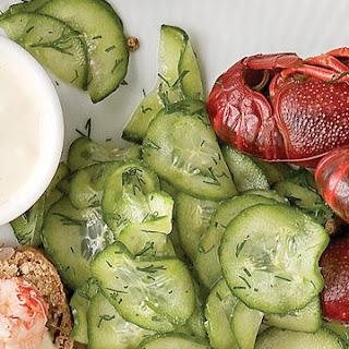 Shaved-Cucumber Salad