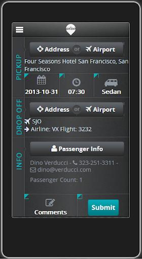 Superior One Passenger App