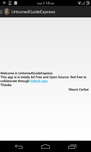 Unturned Guide Express