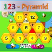 123 Math Pyramid