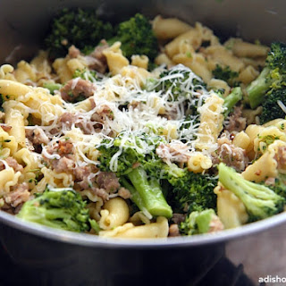 Sausage and Broccoli Pasta