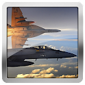 F18 Hornet Airforce Clock LWP icon