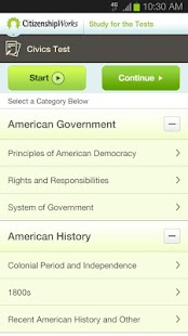 CitizenshipWorks- screenshot thumbnail