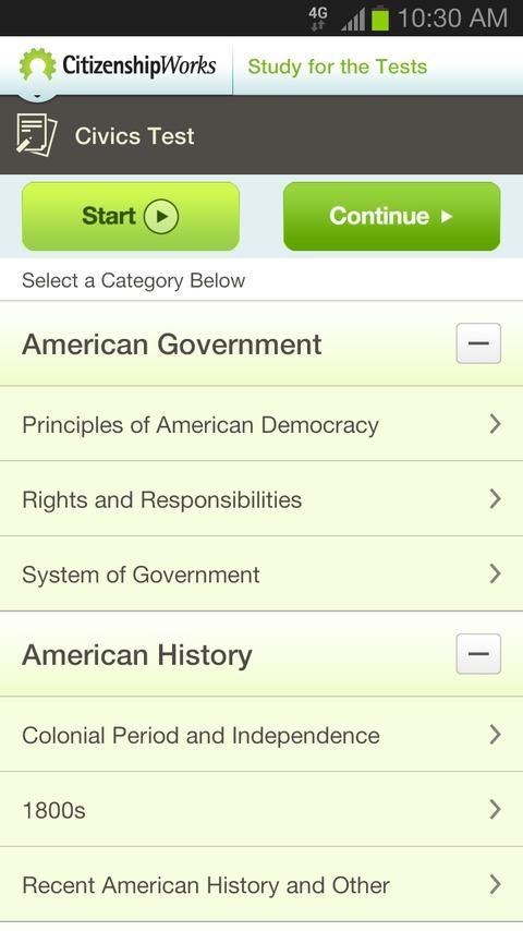 CitizenshipWorks - screenshot