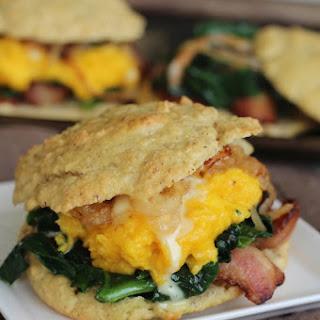 Breakfast Biscuit Sandwiches.