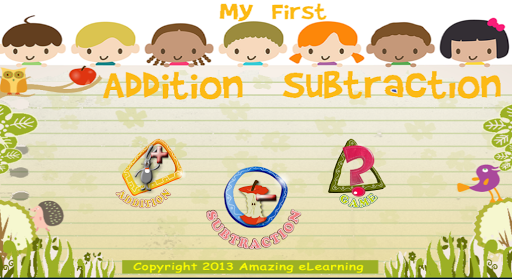 My First Addition Subtraction