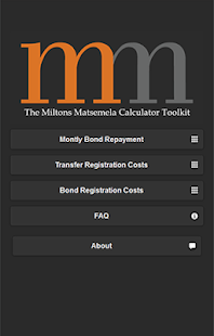Miltons Matsemela Calculator- screenshot thumbnail