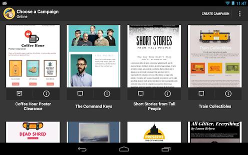 MailChimp Editor - screenshot thumbnail