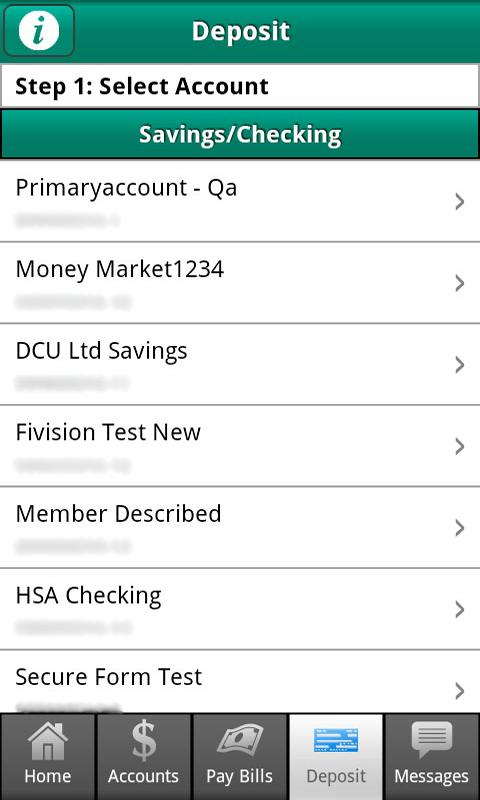 DCU Mobile Banking - screenshot