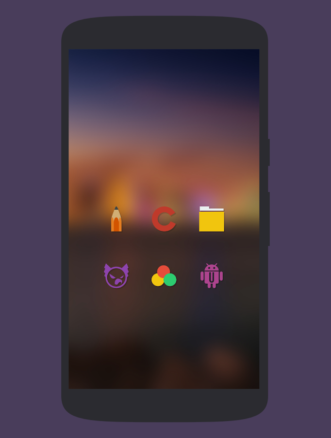 Naxos Taz - Icon Pack - screenshot