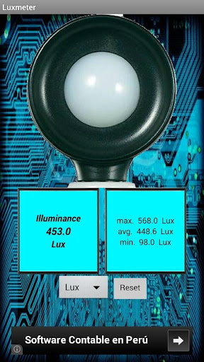 Lux Meter 1.2 - Free download