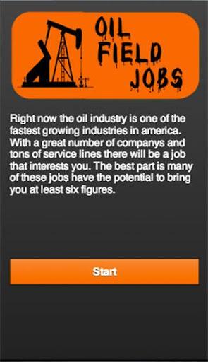 oil field jobs